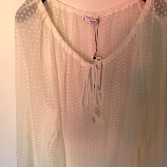 Plumeti White blouse